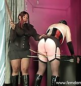 Sissy slave whipped