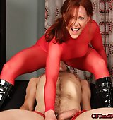 Femdom: Catherine deSade: Clamped and Smothered