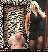 Goddess Alura ..::.. Extreme arrogant Amazon with huge jugs uses the pathetic old freak as Her human ashtray  ..::.. SUPER HD