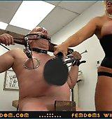 Goddess Alura ..::.. Worthless old loser-freak gets severely paddled and humiliated by a furious Amazon Goddess (Part 2) ..::.. SUPER HD