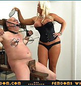 Goddess Alura ..::.. Worthless old loser-freak gets severely paddled and humiliated by a furious Amazon Goddess ..::.. SUPER HD