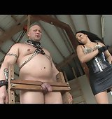 Mistress Lacy Torments His Cock