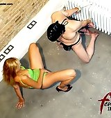 Mistress humiliation of slave