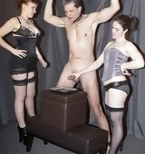 Double Domme milking pics