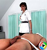 Cock milking nurse